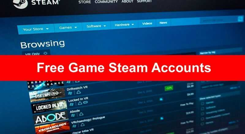steam free account