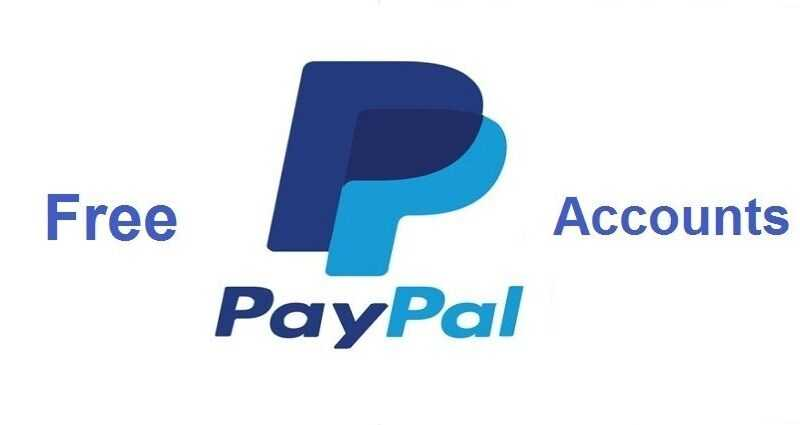 free paypal accounts with money